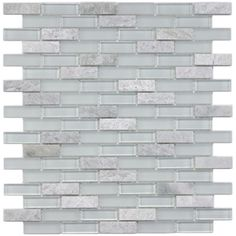 @Overstock - Remodel your home with this translucent glass tile for your kitchen, bath or backsplash. This wall tile comes in tones of white and green. http://www.overstock.com/Home-Garden/SomerTile-12x12-in-Reflections-Subway-5-8x2-in-Ming-Glass-Stone-Mosaic-Tile-Pack-of-10/5318587/product.html?CID=214117 $116.79