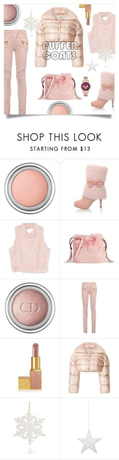 """""""Untitled #1173"""" by forkelly1 ❤ liked on Polyvore featuring Christian Dior, Furla, Balmain, David Jones, Off-White, Heart of Haiti, Shishi and Michael Kors"""