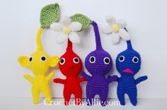 Pikmin! | Custom Crochet hats and accessories
