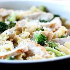 Tried this and it was delicious!  Lemony Broccoli Pasta with Chicken | Recipes | Spoonful