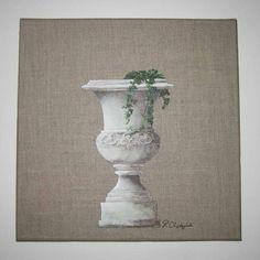 To-Pierre_2 - Painting,  30x30 cm ©2012 par Pierre CHADZYNSKI -  Peinture, Huile