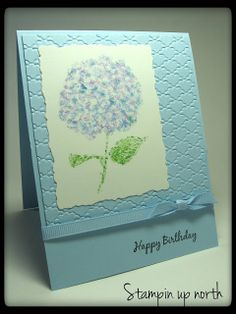 Stampin Up Birthday card (stamping up north)