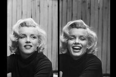 Marilyn Monroe at home in Hollywood, 1953