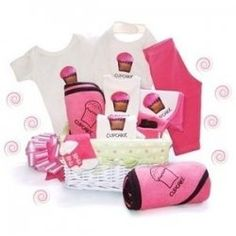 The most adorable Cupcake Baby Gifts for any mother to be or to give away as a baby shower gift. Find everything cupcake for babies, from onesies,...