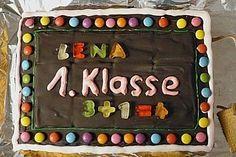 Tafel - Kuchen zur Einschulung / zum Schulanfang 10