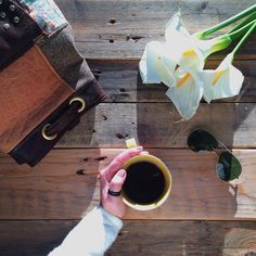 """AndreiaCosta➸handmade no Instagram: """"The Order is: First I drink my coffee, then I do the things. Bom dia!! Have a great day!! ➸ #omeucafédamanha #onthetable #morningslikethese #gatheringslikethese 11.2.16"""""""