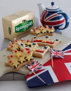 Diamond Jubilee Royal shortbread biscuits