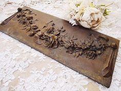 antique barbola decoration....