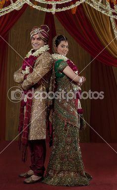 lindo casal indiano — Imagem Stock #47447263