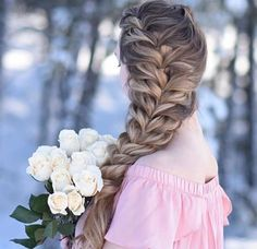 20 Beautiful braided hairstyles for women that affect men - Long Bob Hairstyles 2019 Cute Braided Hairstyles, Long Bob Hairstyles, Hairstyles With Bangs, Wedding Hairstyles, Braided Locs, Summer Hairstyles, Pretty Hairstyles, Curly Hair Styles, Natural Hair Styles