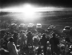 Watching the Apocalypse (actually a nuclear test) - June 24, 1957