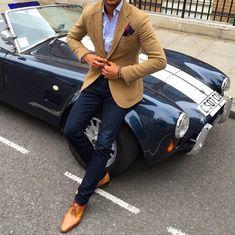 Love the jacket - despise the car!  Yuck!