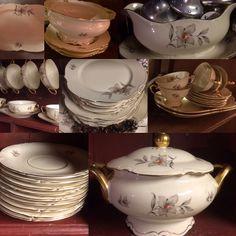 Sugar Bowl, Bowl Set, China, Porcelain