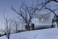 Viewing Pavilion on Hill / TAO  Trace Architecture Office