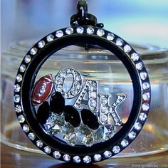 Oakland Raiders football locket necklace – SportLockets.com
