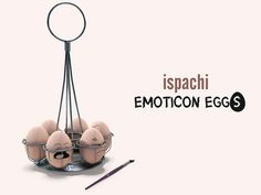 ISPACHI Decor - Emoticon Eggs | Flickr - Photo Sharing!