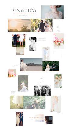 BHLDN | Anthropologie Weddings | Homepage Design | Editorial | Real Brides