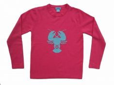 Two Bees cashmere lobster sweater