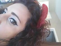 Halloween Makeup. Wing Eyeliner.