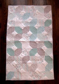 Road to Tennessee Baby Quilt by SewingbyJenn on Etsy, $125.00
