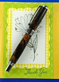 Hand Turned Wooden Pen Handcrafted Stabilized by MikesPenTurningZ, $69.00