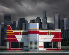 Photography, Architecture Series by Ed Freeman Minimal Photography, Photography Series, Concept Photography, Norman Rockwell, Edward Hopper, Beatles, Ed Freeman, Utopia Dystopia, Culture Jamming