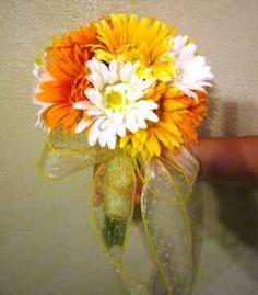 daisy flowers orange white.....skip the yellow!