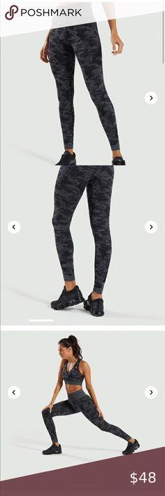 Malibu Bk S New Victoria Secret Victoria Sport Leggings Black Camo M L XL