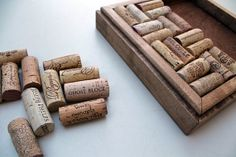 DIY Wine Cork Trivet Kit  Reclaimed Distressed by TheWoodenBee, $17.00