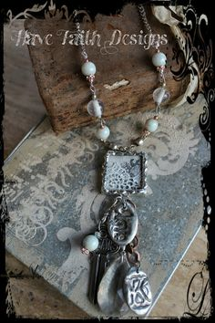 Dreams of Love necklace by HaveFaithDesigns on Etsy, $52.00
