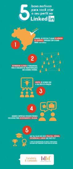 5 motivos para você entrar no Linkedin