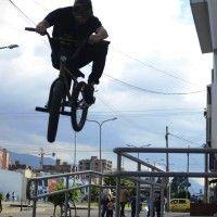 OJOBMX Andres Caviedes over grind coronado