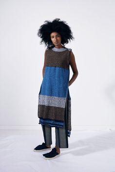 blueberrymodern:   Ports 1961 Spring 2016 - beautiful knitting