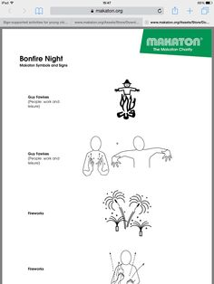 Makaton Signs, British Sign Language, Inclusion Classroom, Hand Signals, Bsl, Bonfire Night, Beyond Words, Speech And Language, Communication