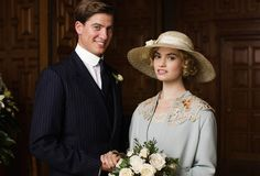 Lady Rose and Atticus on their wedding day <3 Downton Abbey season 5 episode 8