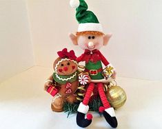 Whimsical Handmade Creations & Vintage by ParadeOfMemories on Etsy Christmas Centerpieces, Floral Centerpieces, Floral Arrangements, Halloween Decorations, Christmas Decorations, Christmas Ornaments, Holiday Decor, Etsy Christmas, Christmas Items