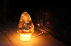 HEICO Small Mushroom Lamp (gold)