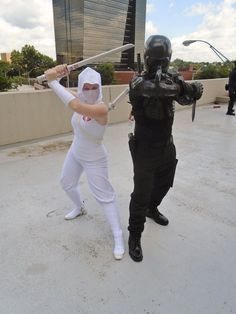 DragonCon 2014 Snake Eyes and Storm Shadow Cosplay by kombatsk