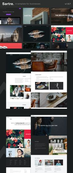 Creative Multipurpose HTML Website Template - 9 homepage variants - 70+ pages Html Website Templates, Creative