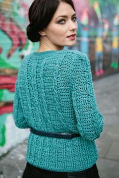 Rosalind cardi issue 47 Inside Crochet