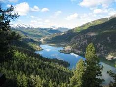 This is a great place to camp.  It is Lake City Colorado.