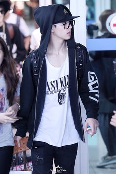 his street style on point | got7 mark