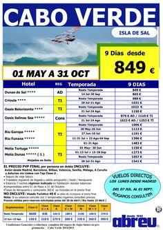 Cabo Verde 01 May a 31 Oct desde Bilbao, Valencia, Sevilla, Málaga, Asturias y Coruña ultimo minuto - http://zocotours.com/cabo-verde-01-may-a-31-oct-desde-bilbao-valencia-sevilla-malaga-asturias-y-coruna-ultimo-minuto/