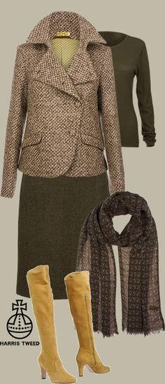 Abigail Moessmer tweed short ladies' jacket by The Rose Online- really rather British clothes with an unusual attention to detail