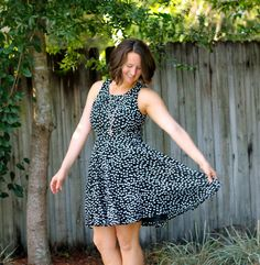 Stitch Fix Review by Meals and Miles! 41Hawthorn Sugar Dot Print Dress