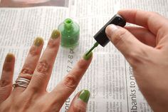 How to Paint Your Nails perfectly with Step-by-Step Pictures and a video