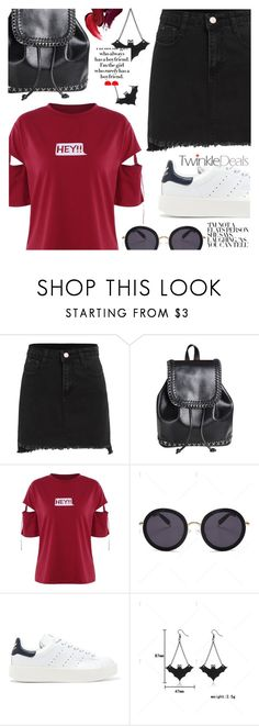 """Hey!"" by tasnime-ben ❤ liked on Polyvore featuring adidas Originals"