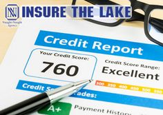 "HOW WILL YOUR CREDIT AFFECT YOUR PREMIUM? Roughly 85 percent of home insurers use certain attributes of your credit score to create what is called a ""credit-based insurance score"" (CBI). That's because studies show a strong correlation between someone's financial risk and the likelihood that he or she will file a claim.  www.InsureTheLake.com"