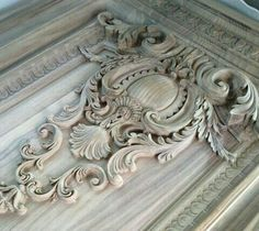 Door Design, Wall Design, Classic House Design, Floral Tattoo Design, Luxury Home Furniture, Carving Designs, Clock Decor, Ornaments Design, Ornament Crafts