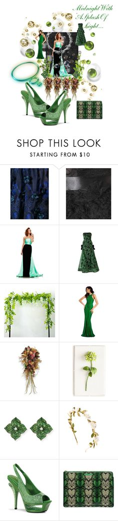 """""""Midnight!"""" by sinmrn ❤ liked on Polyvore featuring Notte by Marchesa, Oscar de la Renta, Johnathan Kayne, Clarisse, Frontgate, Tommy Mitchell, Piranesi, Pleaser and Marc by Marc Jacobs"""